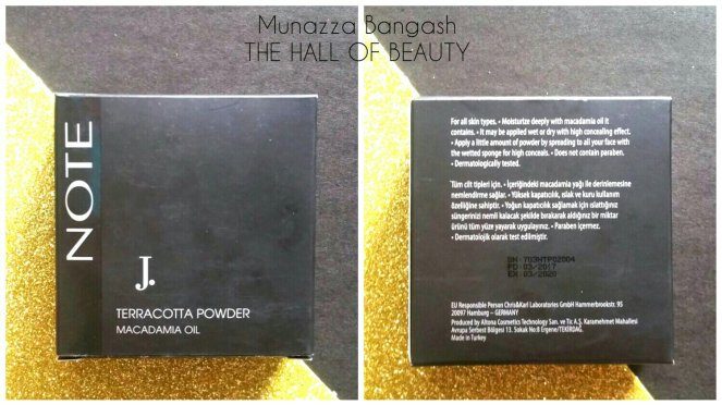 J. Note Terracotta Powder 02
