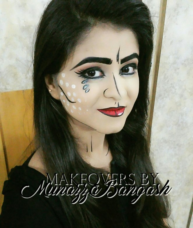Pop Art Makeup | Makeovers by Munazza Bangash